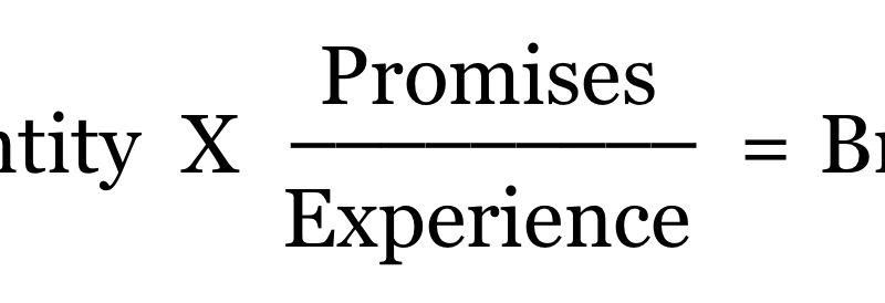 The Brand Formula